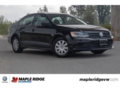 Certified Pre-Owned 2017 Volkswagen Jetta Sedan Trendline BC CAR, SUPER LOW KM, MANUAL!