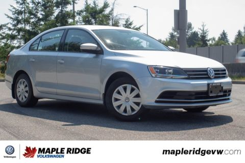 Pre-Owned 2015 Volkswagen Jetta Sedan Trendline+ LOW KM, GREAT DEAL, B.C. CAR!