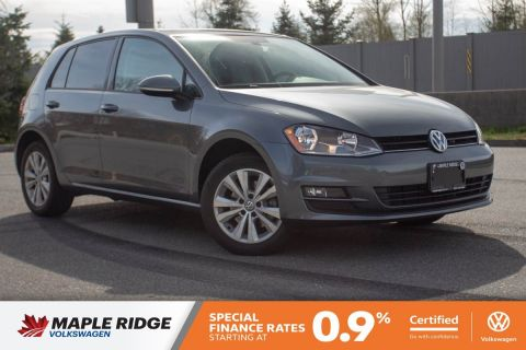 Certified Pre-Owned 2017 Volkswagen Golf Comfortline ONE OWNER, NO ACCIDENTS, LOCAL CAR!