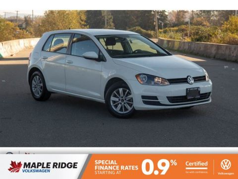 Certified Pre-Owned 2015 Volkswagen Golf Comfortline BC CAR, LOW KM, AWESOME CONDITION!