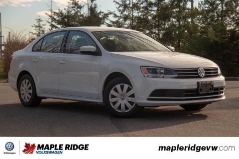 Pre-Owned 2016 Volkswagen Jetta Sedan Comfortline BC CAR, AWESOME VALUE, GREAT COMMUTER!