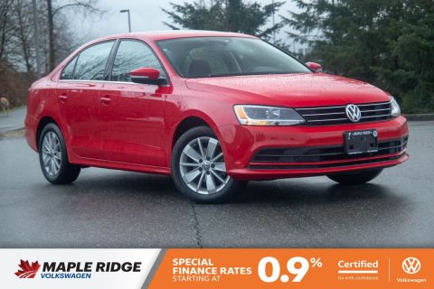 Certified Pre-Owned 2015 Volkswagen Jetta Sedan Trendline+ 1 OWNER, LOCAL, PERFECT COMMUTER!