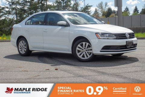 Certified Pre-Owned 2017 Volkswagen Jetta Sedan Wolfsburg Edition NO ACCIDENTS, BC CAR, SUPER LOW KM!
