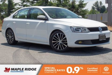 Certified Pre-Owned 2013 Volkswagen Jetta Sedan Highline ONE OWNER, SUPER LOW KM, BC CAR!