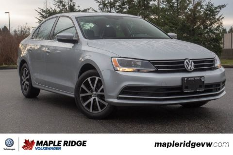 Pre-Owned 2016 Volkswagen Jetta Sedan Comfortline LEATHER INTERIOR, SUNROOF, BLUETOOTH