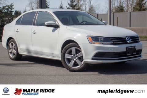 Certified Pre-Owned 2016 Volkswagen Jetta Sedan Comfortline NO ACCIDENTS, LOCAL CAR, GREAT VALUE!