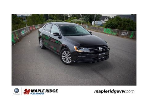 Certified Pre-Owned 2016 Volkswagen Jetta Sedan Comfortline LOCAL CAR, LOW KM, GREAT CONDITION!