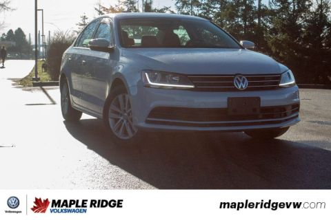 Certified Pre-Owned 2017 Volkswagen Jetta Sedan Wolfsburg Edition NO ACCIDENTS, BC CAR, SUPER LOW KILOMETRES
