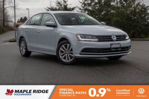 Certified Pre-Owned 2017 Volkswagen Jetta Sedan Wolfsburg Edition GREAT VALUE, WONDERFUL CONDITION, WELL EQUIPPED!