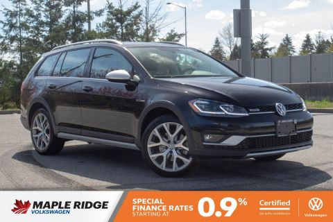 Certified Pre-Owned 2018 Volkswagen Golf Alltrack 4MOTION AWD, PANO ROOF, NAV, NO ACCIDENTS, LOCAL CAR!