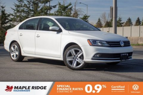 Certified Pre-Owned 2015 Volkswagen Jetta Sedan Highline ONE OWNER, LOCAL, FULLY LOADED!