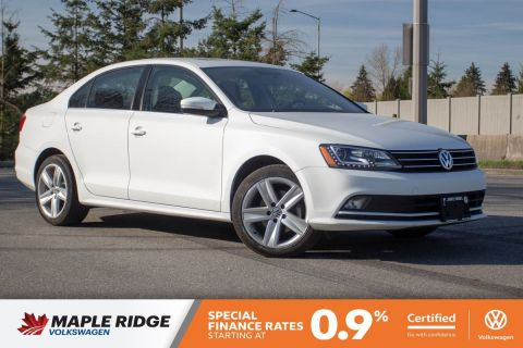 Certified Pre-Owned 2015 Volkswagen Jetta Sedan Highline NAV, SUNROOF, ONE OWNER, LOCAL, FULLY LOADED!