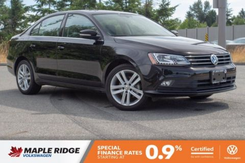 Certified Pre-Owned 2017 Volkswagen Jetta Sedan Highline ONE OWNER, NO ACCIDENTS, BC CAR!