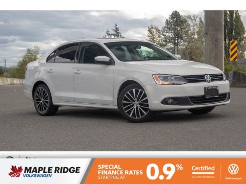 Certified Pre-Owned 2013 Volkswagen Jetta Sedan Highline BC CAR, GREAT VALUE, GOOD CONDITION