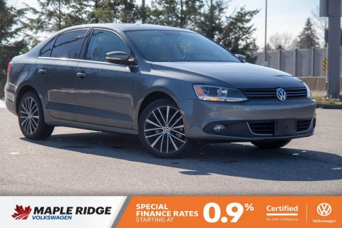 Certified Pre-Owned 2013 Volkswagen Jetta Sedan Highline SUPER LOW KM, NO ACCIDENTS, BC CAR