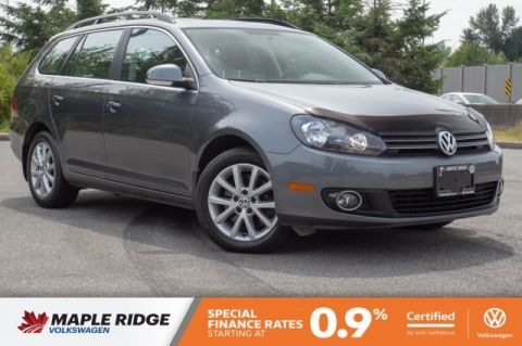 Certified Pre-Owned 2014 Volkswagen Golf Wagon Comfortline TDI NO ACCIDENTS, B.C. CAR, GREAT CONDITION!