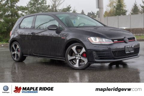 Pre-Owned 2015 Volkswagen Golf GTI Autobahn LEATHER, PANO ROOF, ONE OWNER, LOCAL CAR!