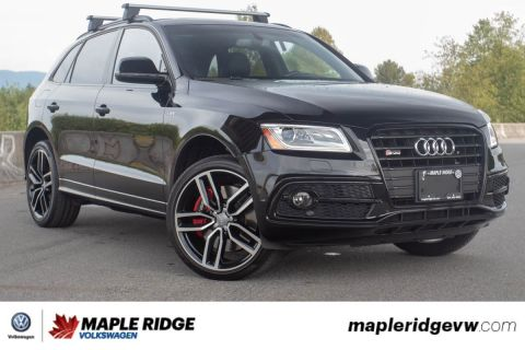 Pre-Owned 2017 Audi SQ5 3.0T Dynamic Edition LOW KM, NO ACCIDENTS, LOCAL CAR!