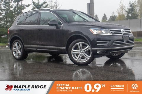 Certified Pre-Owned 2015 Volkswagen Touareg Execline TDI R-LINE, GREAT CONDITION, BC CAR!