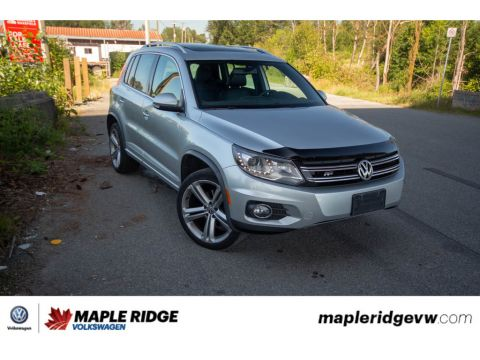 Certified Pre-Owned 2014 Volkswagen Tiguan - AWD,LEATHER,SUNROOF,NAVIGATION