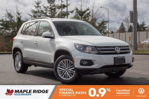 Certified Pre-Owned 2016 Volkswagen Tiguan Special Edition NO ACCIDENTS, ALL-WHEEL DRIVE