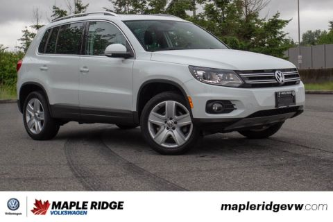 Pre-Owned 2016 Volkswagen Tiguan Comfortline ONE OWNER, NO ACCIDENTS, LOCAL CAR!