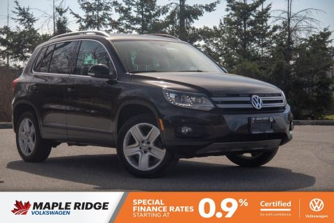 Certified Pre-Owned 2016 Volkswagen Tiguan Highline NO ACCIDENTS, LOCAL CAR, WELL MAINTAINED!