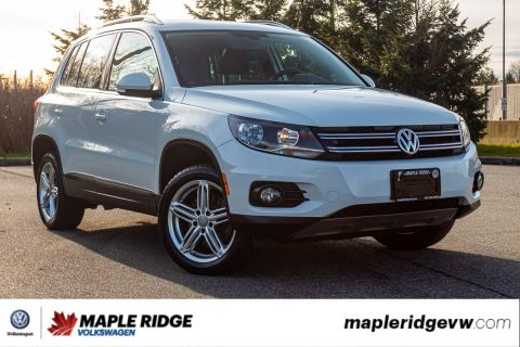 Pre-Owned 2017 Volkswagen Tiguan Comfortline AWD, ONE OWNER, NO ACCIDENTS, LOCAL CAR!
